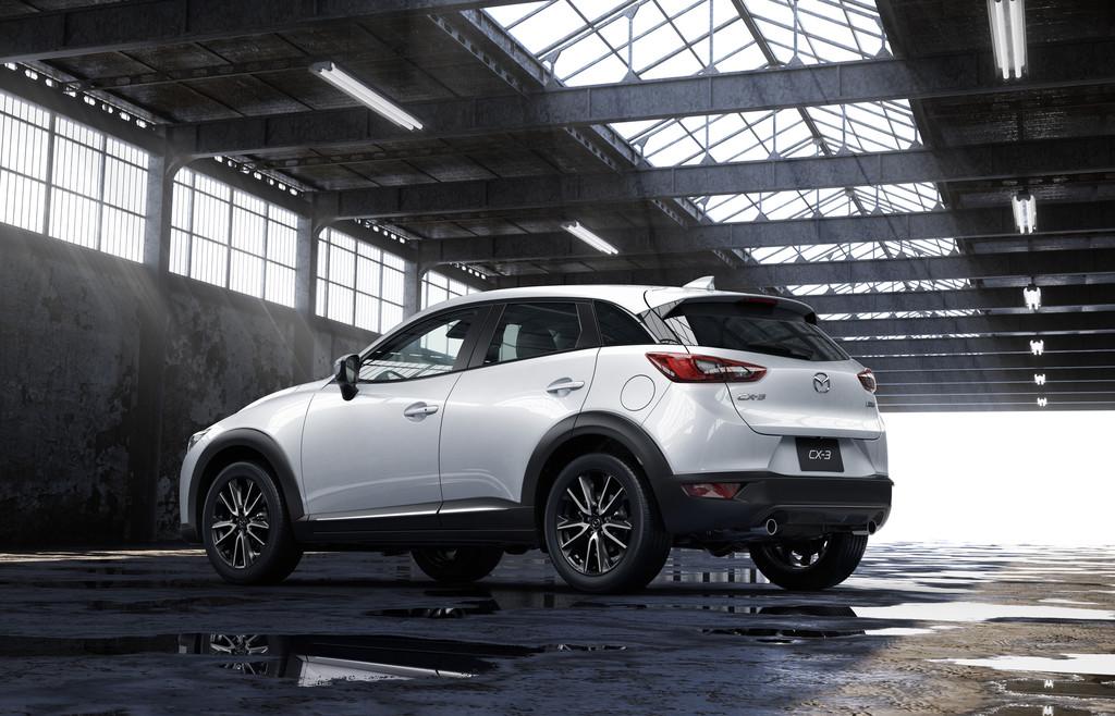 Genf 2015: Mazda CX-3 kommt im Juni