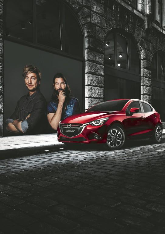 Probefahrt bei Mazda mit Rea Garvey oder Samu Huber