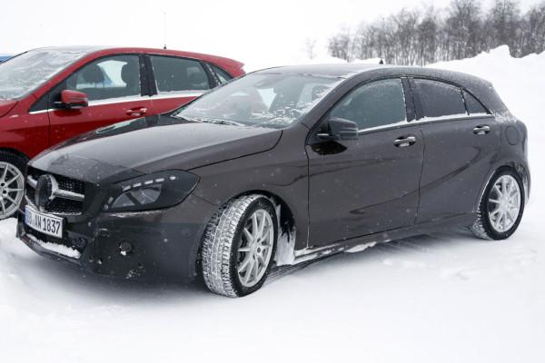 Erwischt: Erlkönig Mercedes A-Klasse - Im Detail