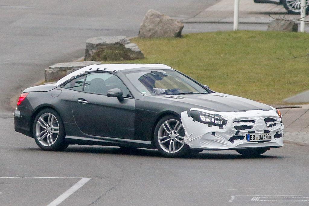 Erwischt: Erlkönig Mercedes-Benz SL Facelift
