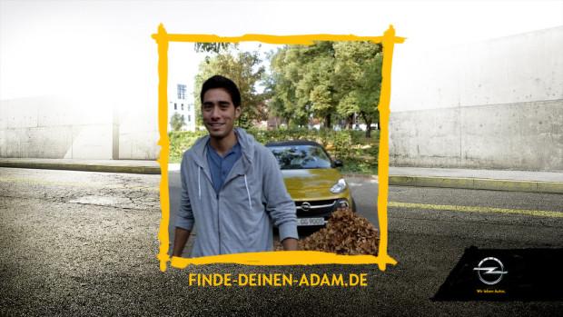 """Opel Adam begleitet """"Germany's next Topmodel"""""""