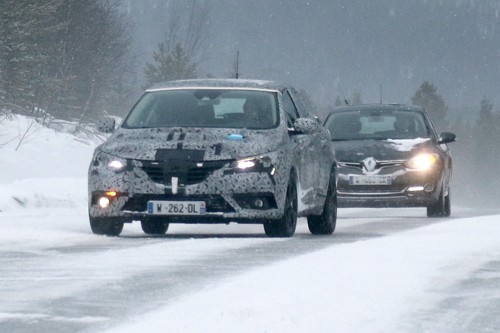 Erwischt: Erlkönig Renault Mégane