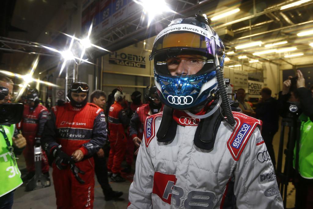 Rast fährt für Audi