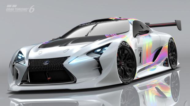 Lexus LF-LC für die Playstation