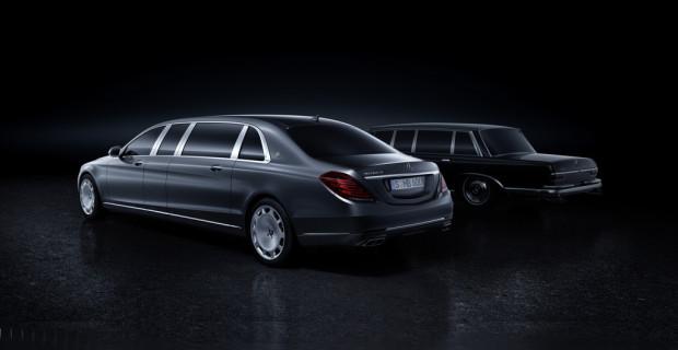 Mercedes-Maybach Pullman.