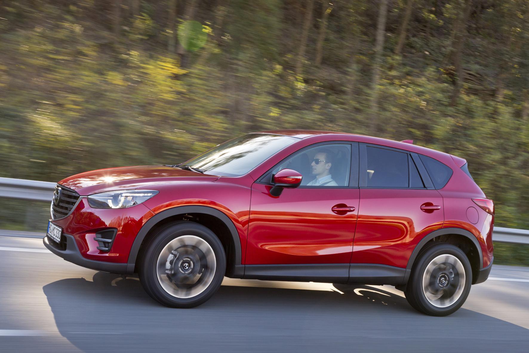 Mazda CX-5 wird aufgefrischt