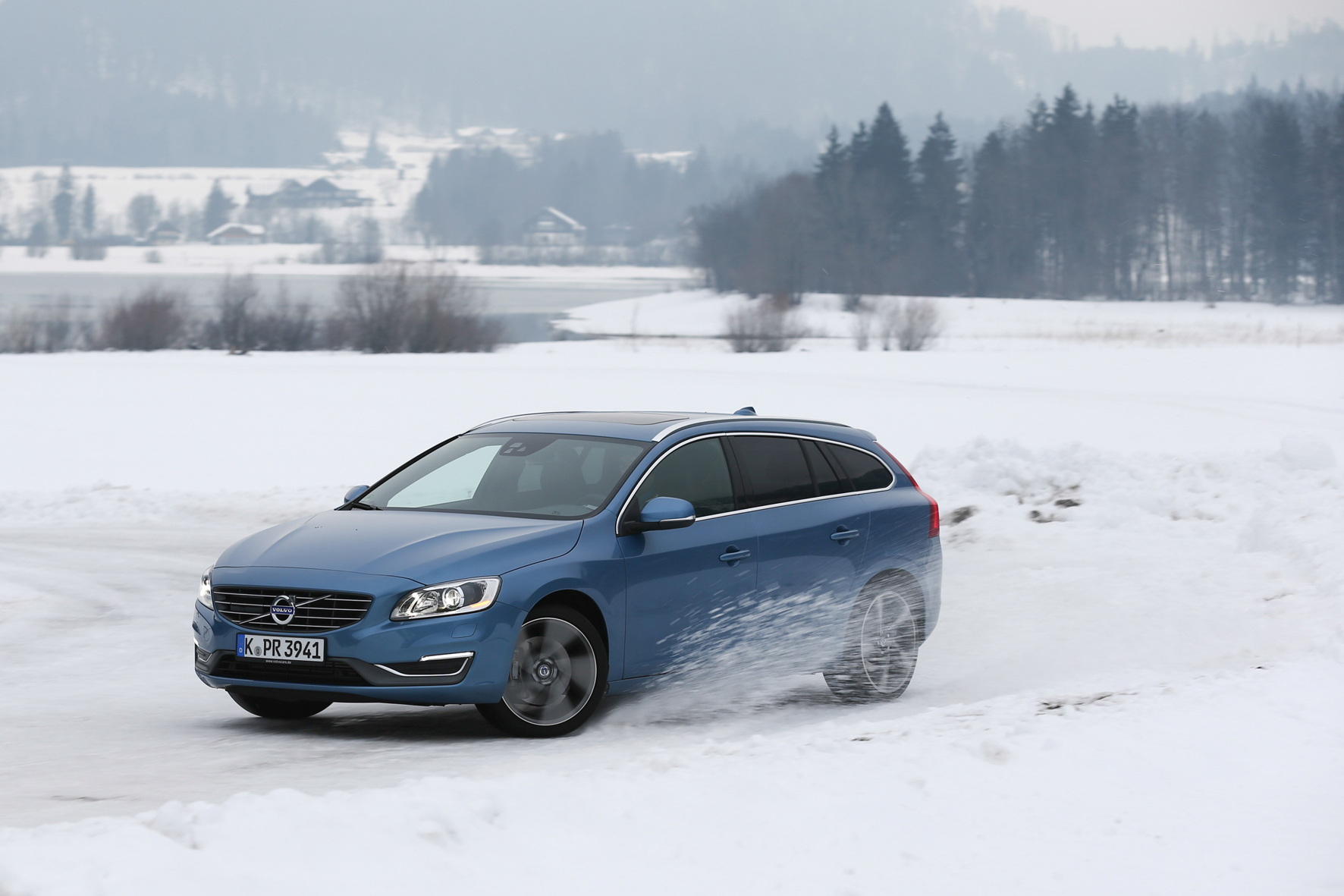 Volvo - In Abrahams Schoß durch den Winter