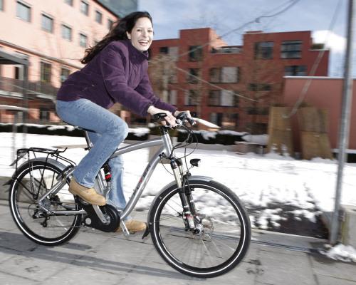 Radfahren im Winter: Die Luft muss raus