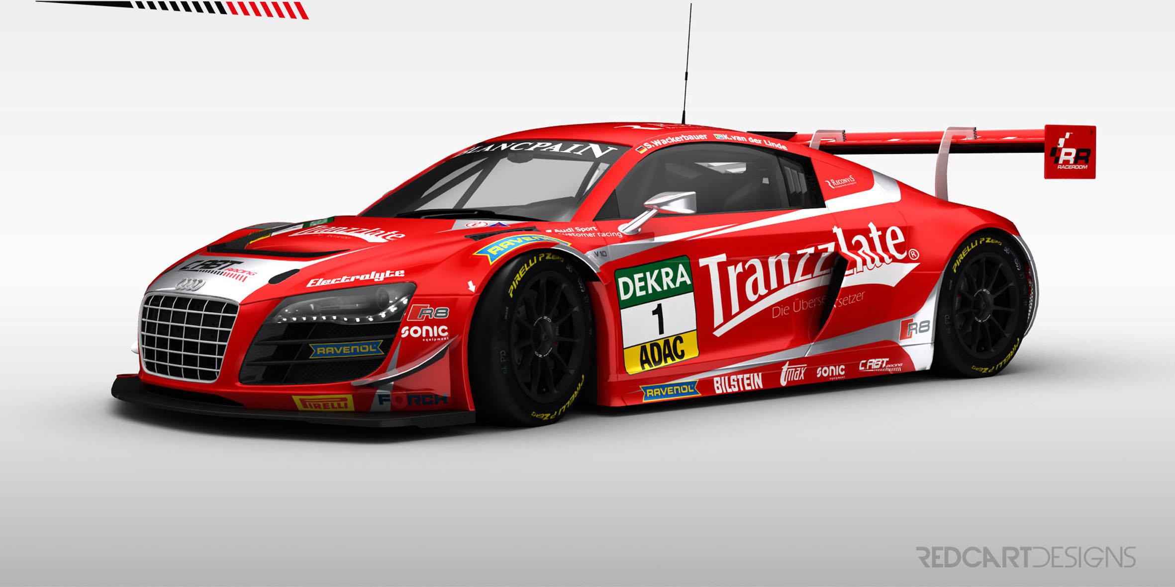 ADAC GT Masters: Abt mit drei Autos am Start