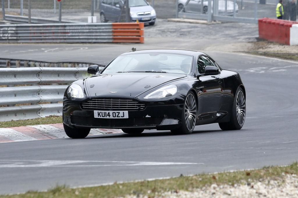 Erlkönig Aston Martin DB9