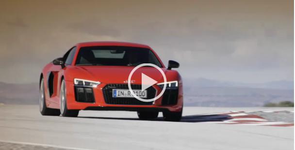 Audi R8 V10 Plus Trailer