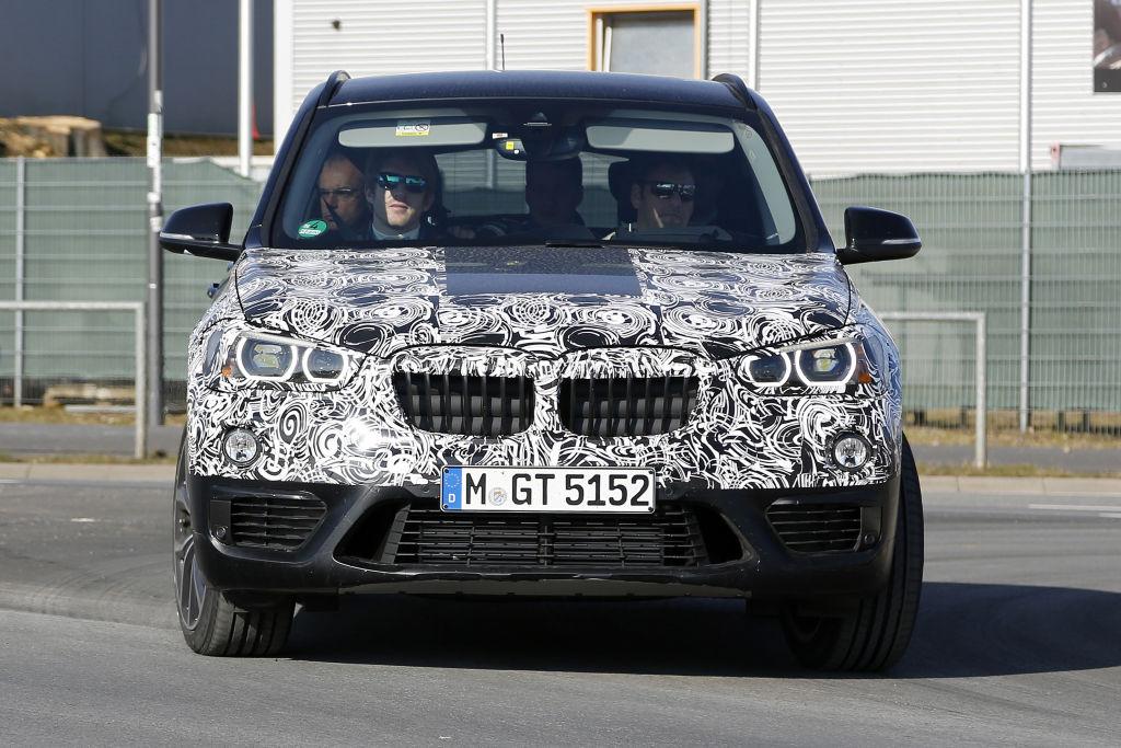 Erwischt: Erlkönig BMW X1