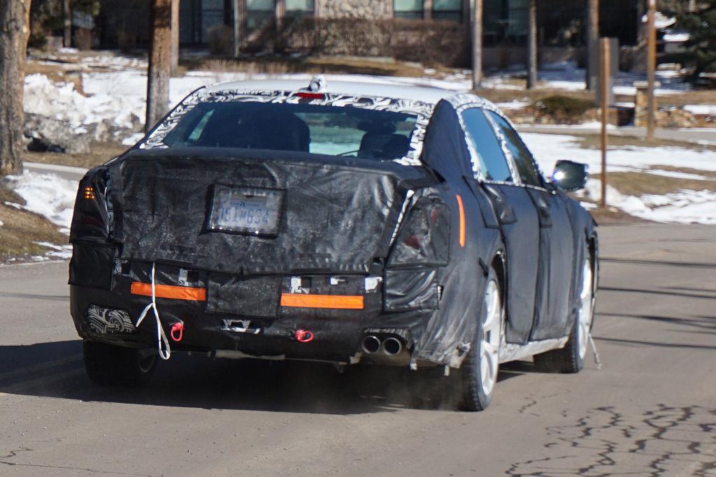 Erwischt: Erlkönig Cadillac CT6
