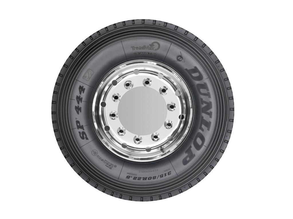 Dunlop erweitert sein Angebot an runderneuerten Ganzjahresreifen für Lkw um vier zusätzliche Reifengrößen.