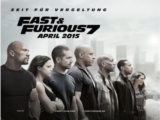 Fast and Furious 7 - Zeit für Vergeltung