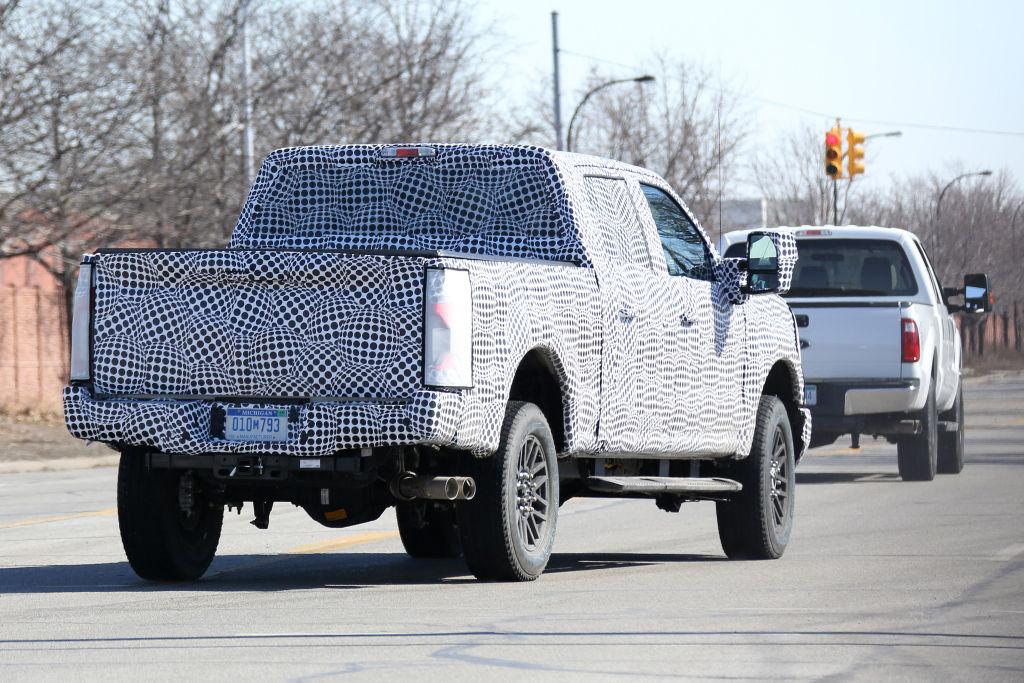 Erwischt: Erlkönig Ford F250 - neue Bilder