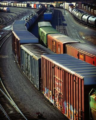 2,3 Prozent weniger Güter auf der Schiene