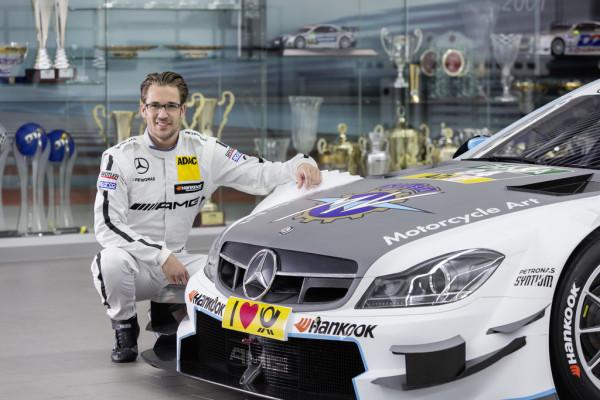 DTM 2015: Mercedes-AMG und MV Agusta zeigen gemeinsam Flagge