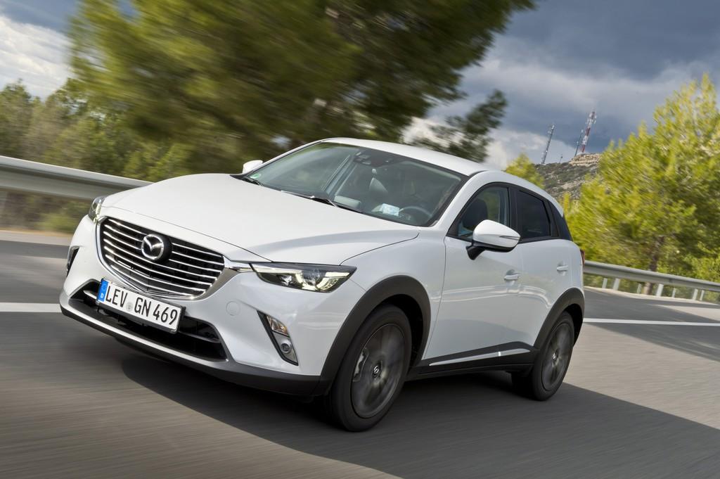 Mazda CX-3 ab 17 990 Euro bestellbar