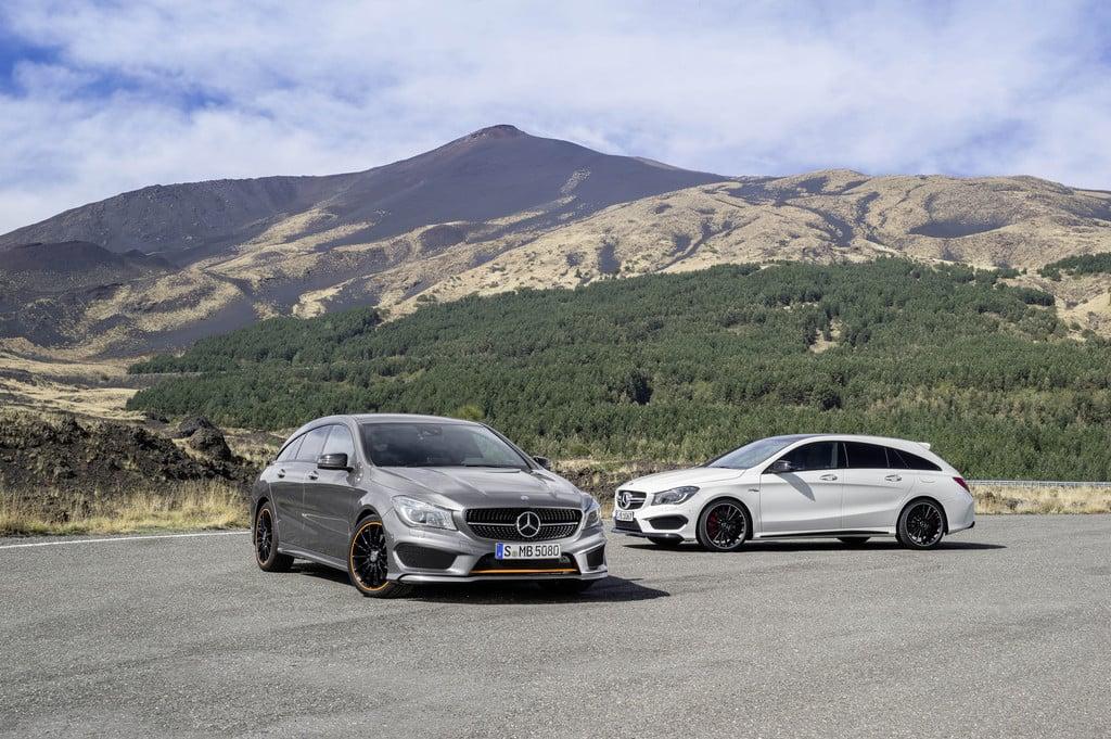 Markteinführung des Mercedes-Benz CLA Shooting Brake am 28.März