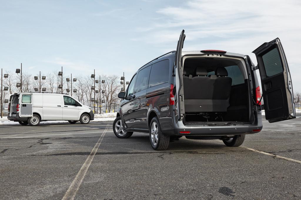 Der Vito für die USA: Mercedes-Benz Metris