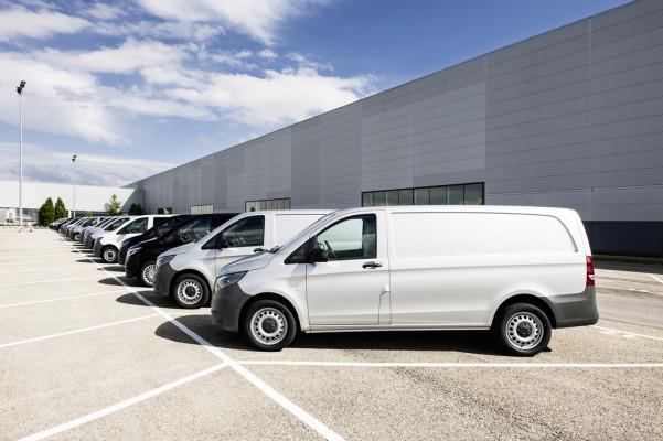 Rekordjahr für Mercedes-Benz Vans