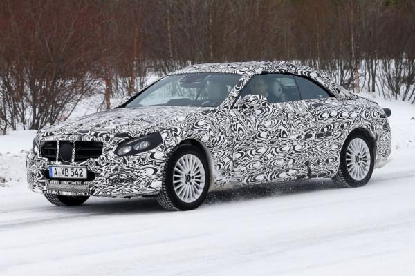 Erwischt: Erlkönig Mercedes-Benz C-Klasse Cabrio