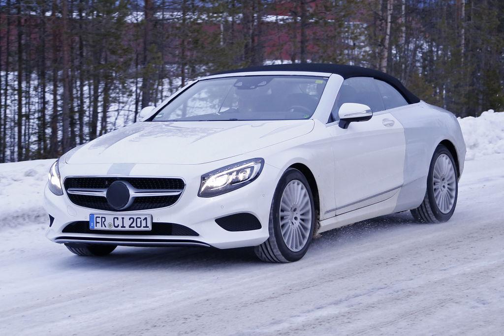 Erwischt: Erlkönig Mercedes S-Klasse Cabrio – neue Bilder!