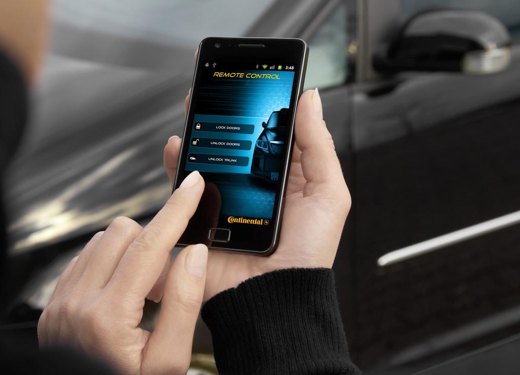 Continental gründet Joint Venture für virtuelle Fahrzeugschlüssel