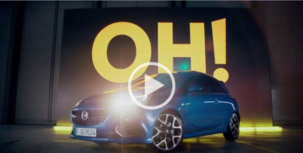 Opel Corsa OPC Trailer