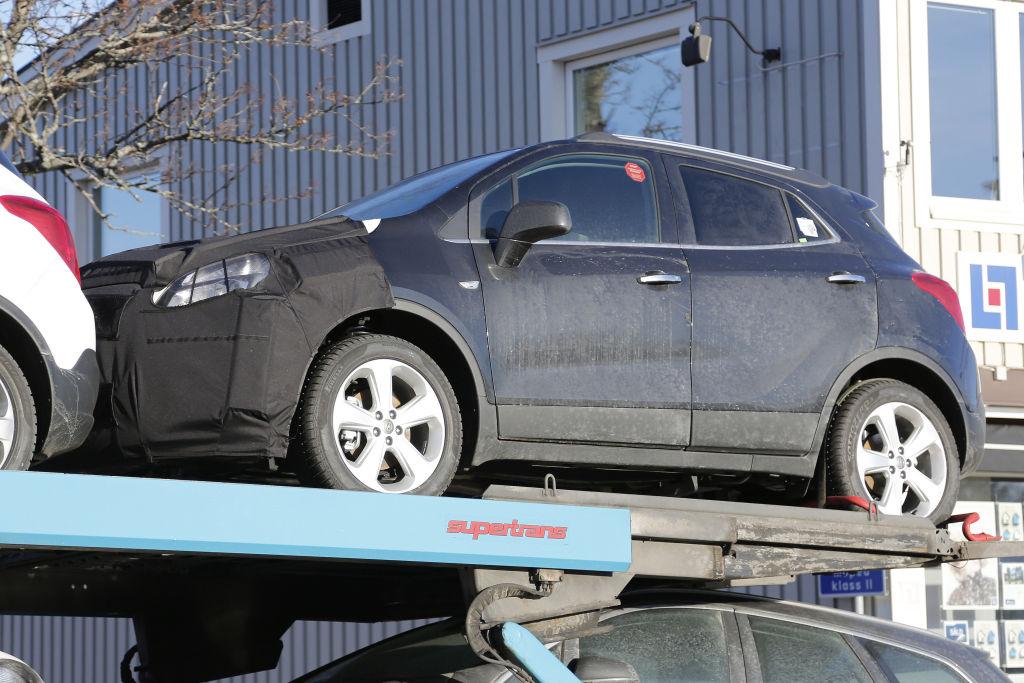 Erwischt: Erlkönig Opel Mokka Facelift