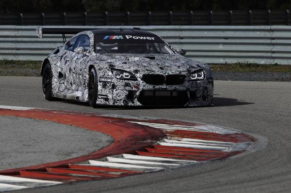 BMW M6 GT3 - Wachwechsel