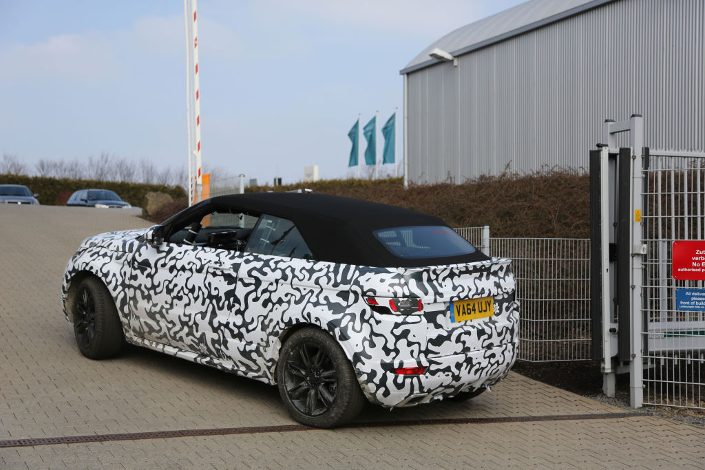 Erwischt: Erlkönig Range Rover Evoque Cabrio
