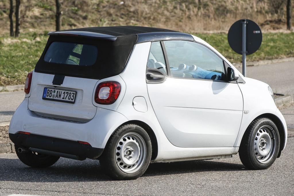 Erwischt: Erlkönig Smart ForTwo Cabrio
