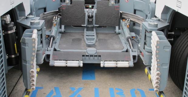 Taxibot: Aufnahmeplattform