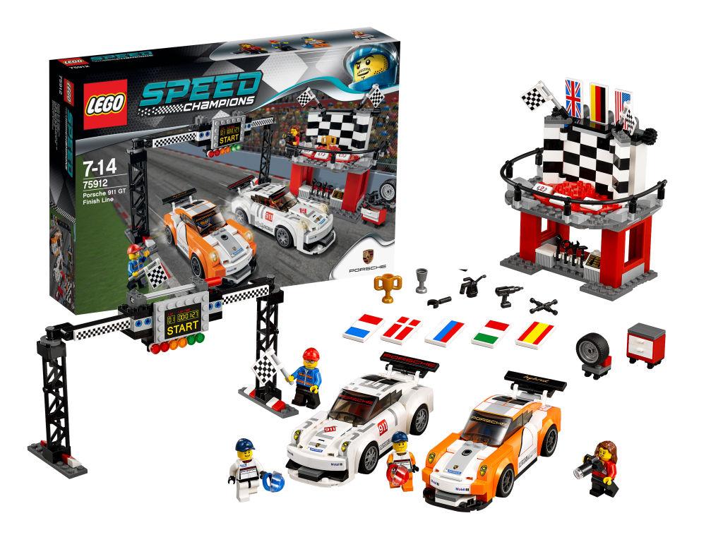 auto.de-Ostergewinnspiel: LEGO Speed Champions Porsche 911 GT