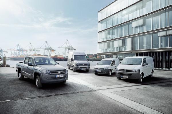 Volkswagen verkauft mehr Nutzfahrzeuge