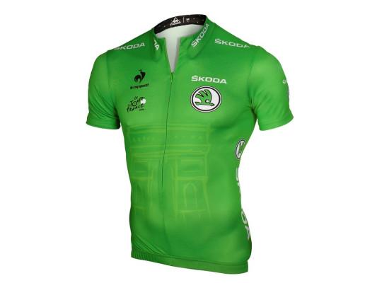 Skoda ist offizieller Partner des Grünen Trikots für den jeweils besten Sprinter der Tour de France und der Spanien-Rundfahrt (La Vuelta).