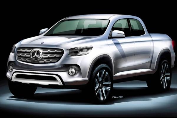Mercedes-Benz Vans bringt mittelgroßen Pickup auf den Markt