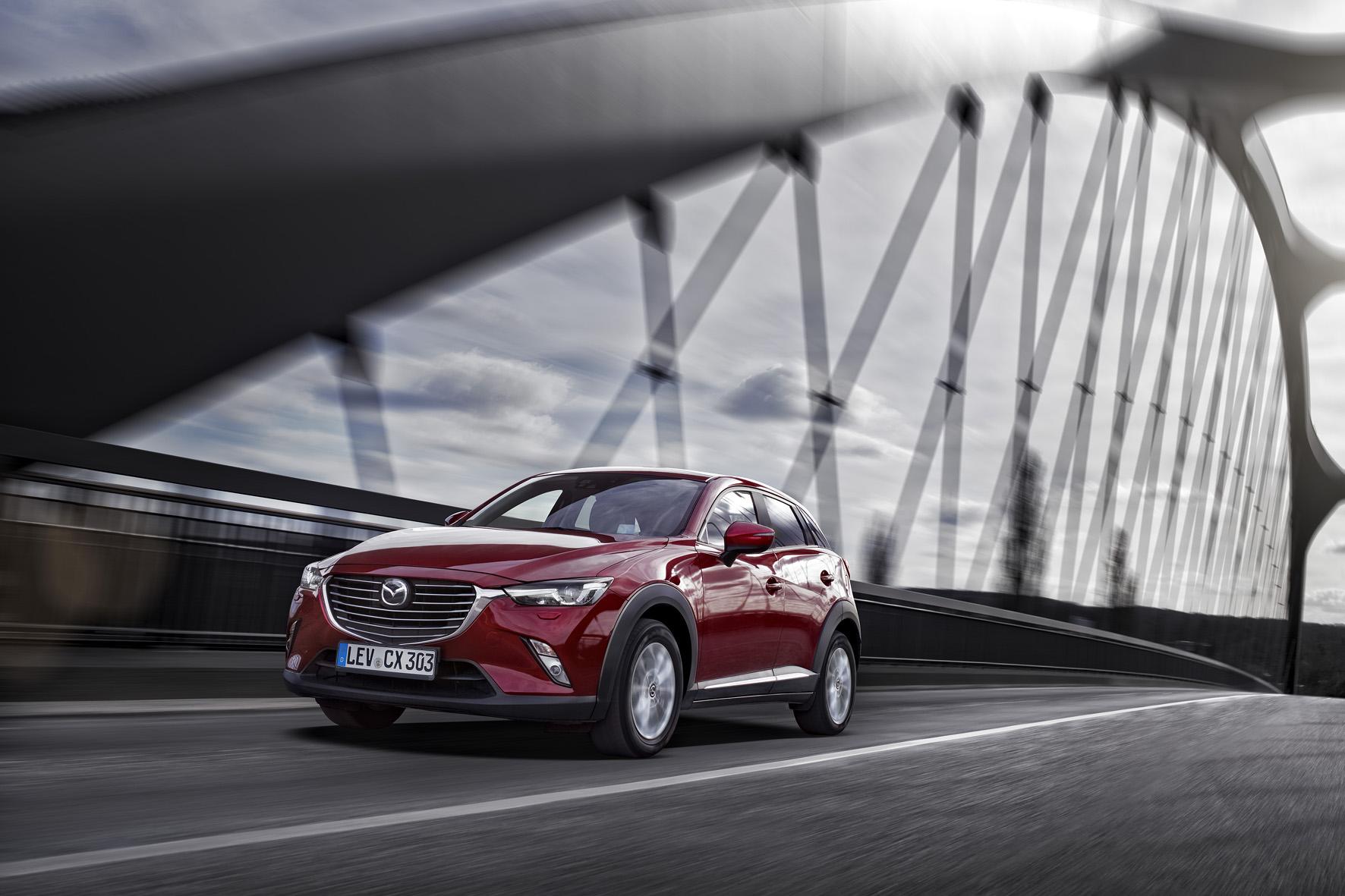 Erste Fahrt im Mazda CX-3: Die kompakte Alternative