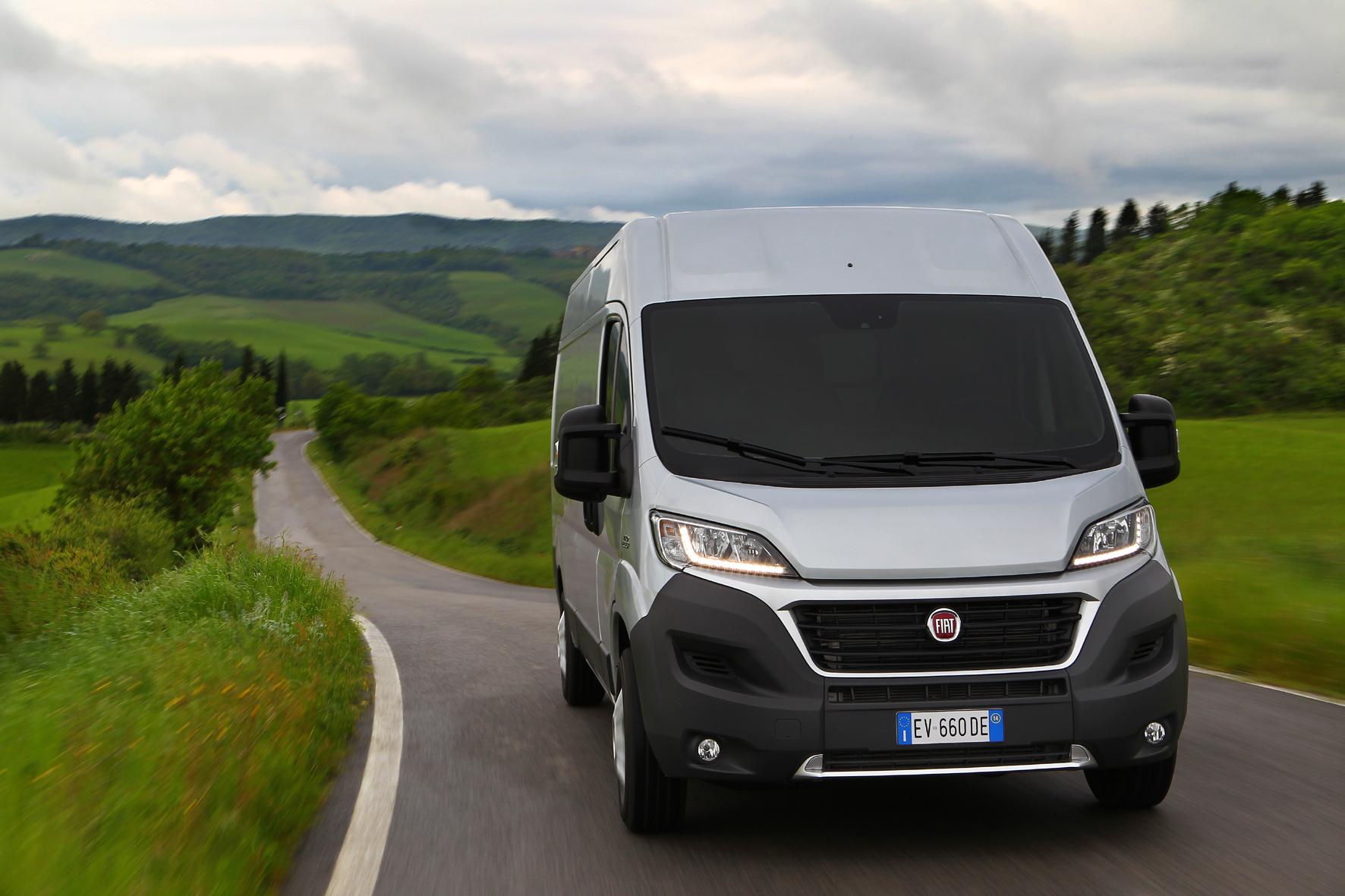 Fiat Ducato jetzt auch als Erdgas-Transporter