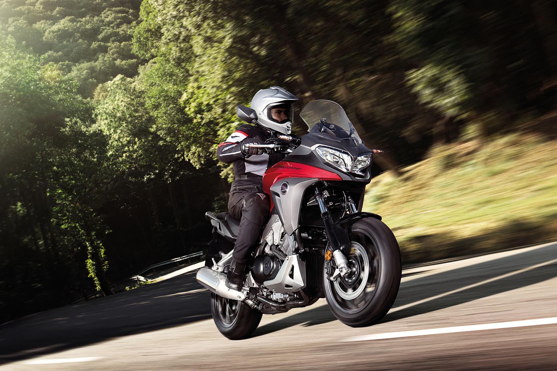 Motorrad-Frühling bei Honda