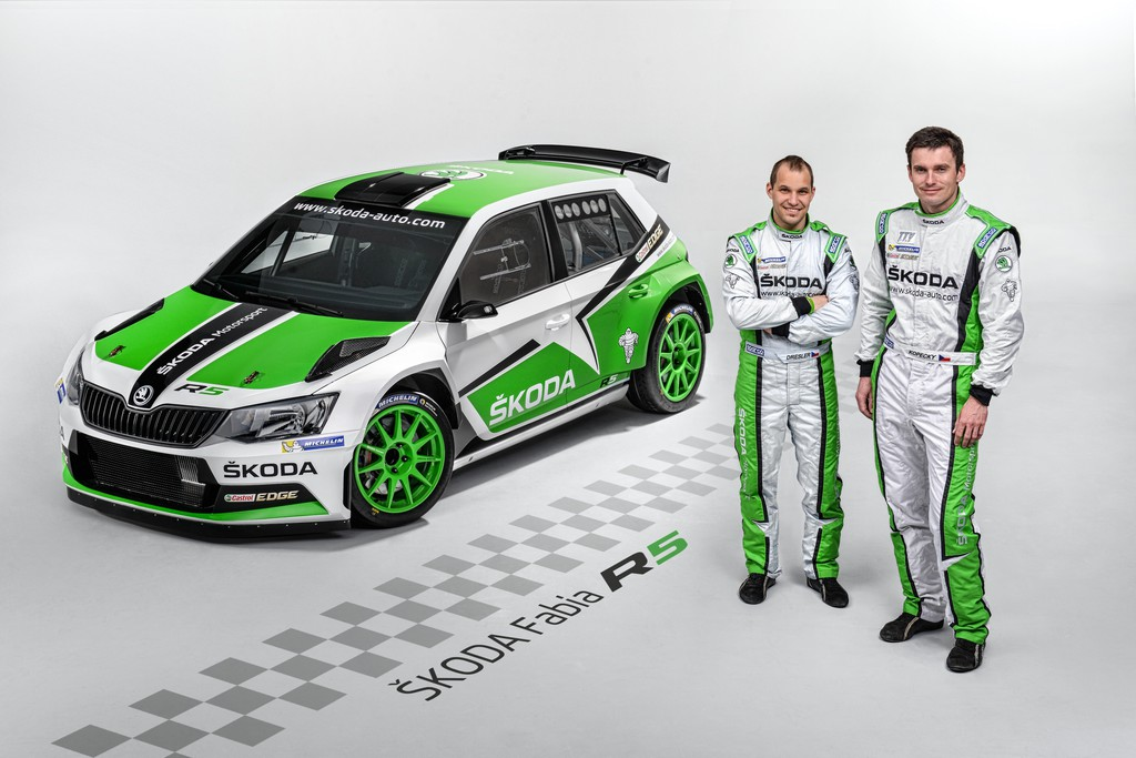 Skoda Fabia R5 greift erstmals ins Rallyegeschehen ein