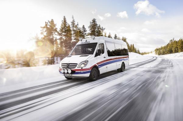 Sprinter knackt in Lappland die Millionen-Grenze