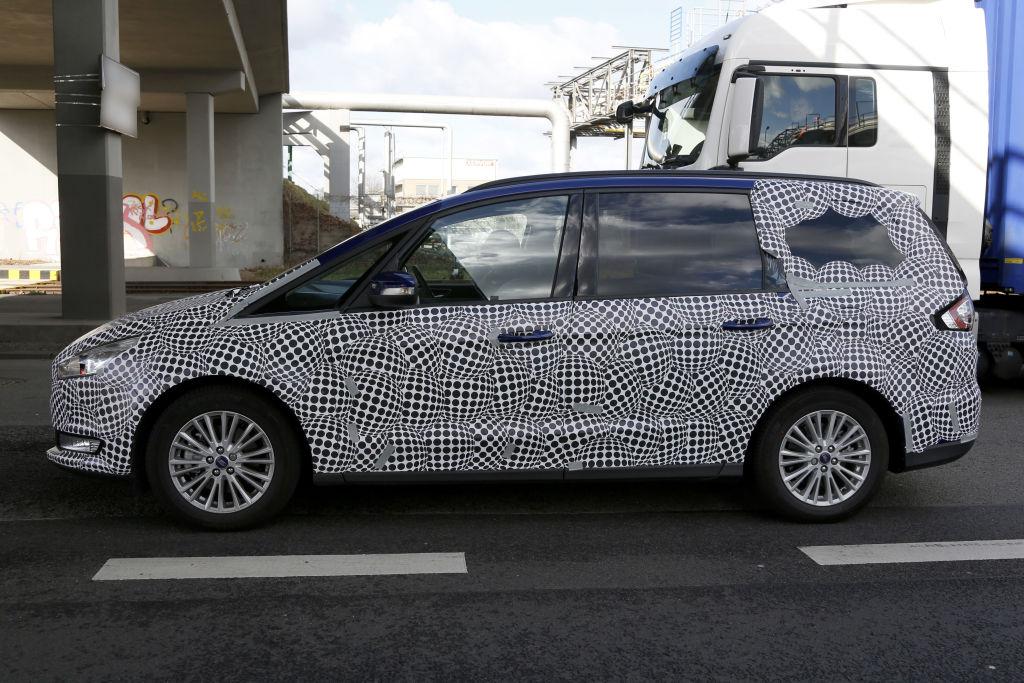 Erwischt: Erlkönig Ford Galaxy