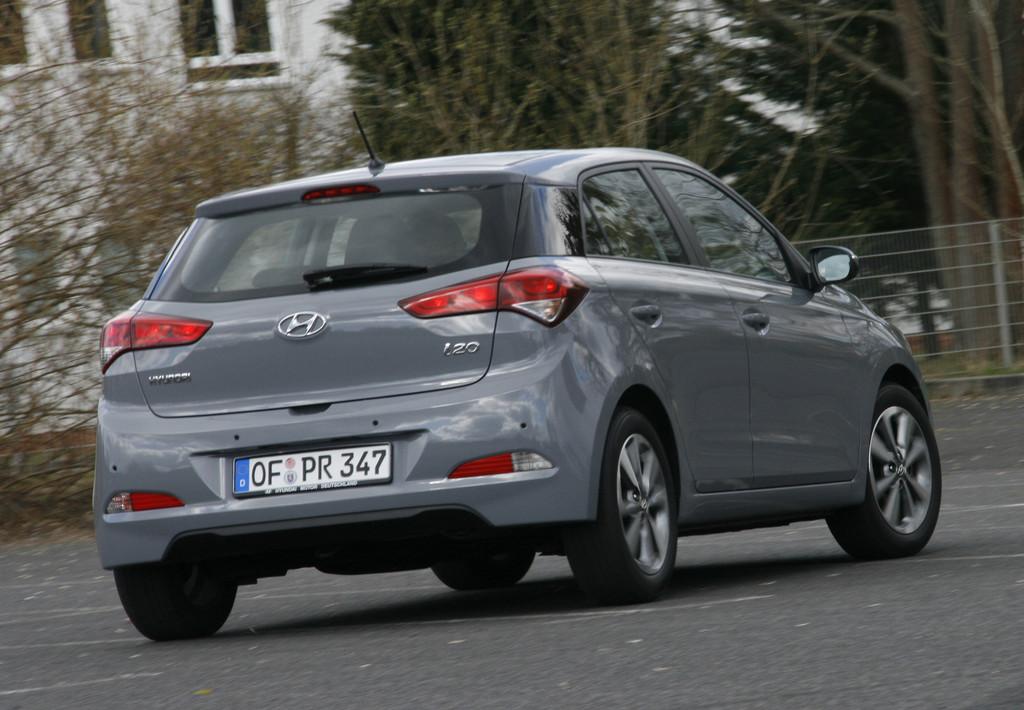 Hyundai i20 1.2 Trend: Selbstbewusste Größe
