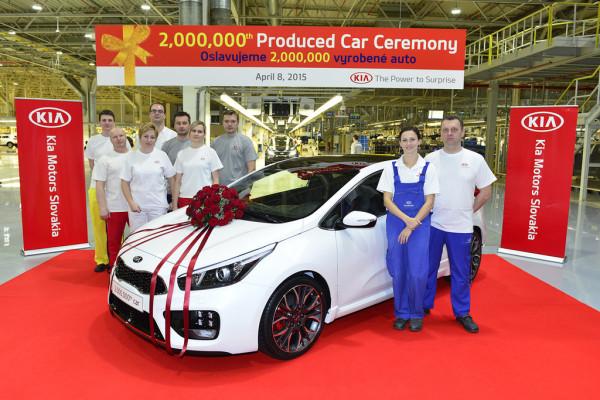 Kia-Werk-Zilina baut zweimillionstes Fahrzeug