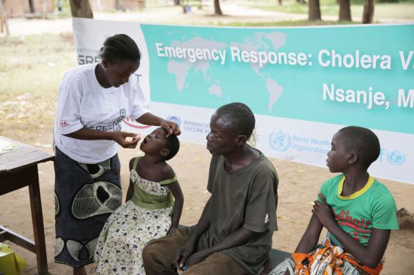 Kia unterstützt Cholera-Impfprogramm in Malawi