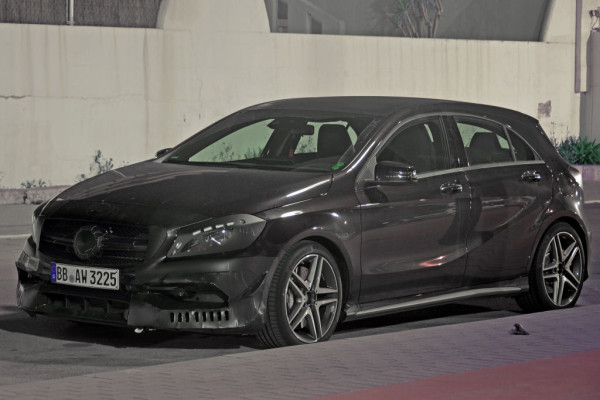 Erwischt: Mercedes A45 AMG Facelift