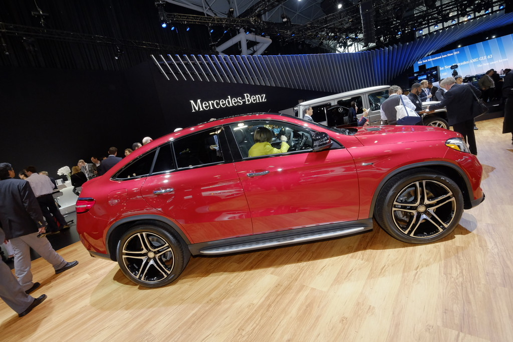 Mercedes-Benz startet GLE Coupé-Produktion in USA